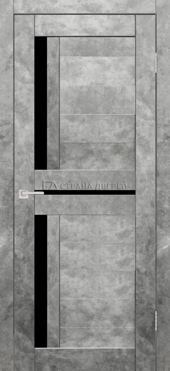 светлый бетон двери